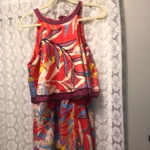 Flying Tomato Other - Floral romper